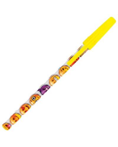 """Ручка кульк. Centrum """"Emojidex"""" син. 0,7мм 87642"""