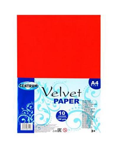 Набір декоративного паперу Centrum Velvet А4 10кол. 88511