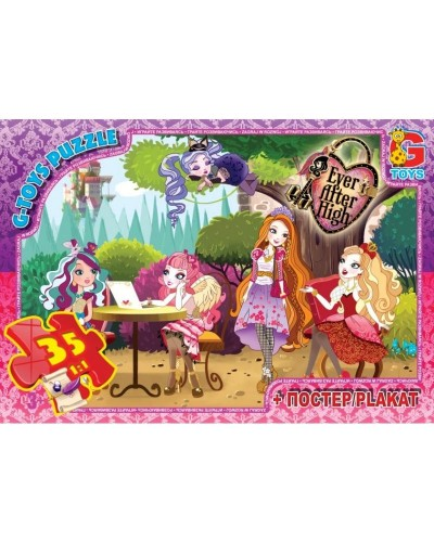 "Пазлы ""Ever After High"" 35 ел."