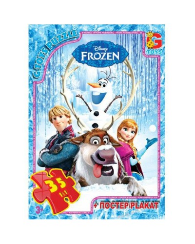 """Пазлы""""Frozen"""", 35 ел."""