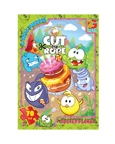 "Пазлы ""Cut the Rope"", 70 ел."