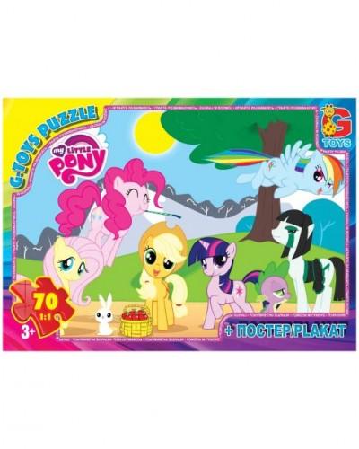 "Пазлы ""My little Pony"", 70 ел."