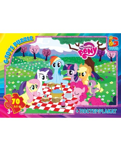 "Пазлы ""My little Pony"" 70 ел."