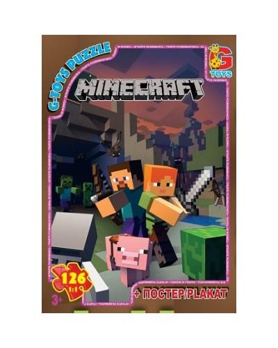 """Пазлы """"Minecraft"""" (Майнкрафт), 126 ел"""