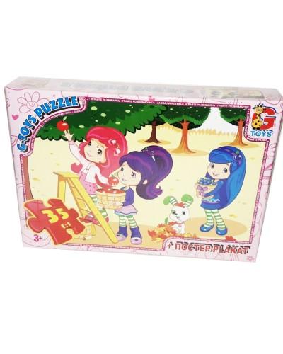 "Пазли ТМ ""G-Toys"" із серії ""Strawberry Shortcake"" (Шарлотта Сунична), 35 елементів"