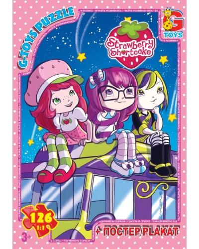 "Пазли ТМ ""G-Toys"" із серії ""Strawberry Shortcake"" (Шарлотта Сунична), 126 елементів"