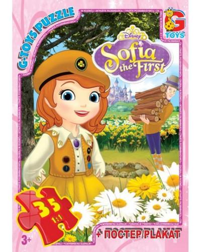 """Пазли ТМ """"G-Toys"""" із серії """"Софія прекрасна"""", 35 ел."""