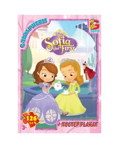 """Пазли ТМ """"G-Toys"""" із серії """"Софія прекрасна"""", 126 ел."""