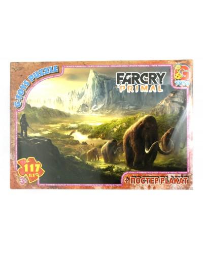 """Пазли ТМ """"G-Toys"""" із серії """"Far Cry. Тваринний світ"""", 117 ел."""