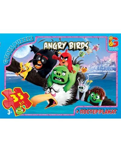 "Пазли ТМ ""G-Toys"" із серії ""Angry Birds"", 35 елементів"