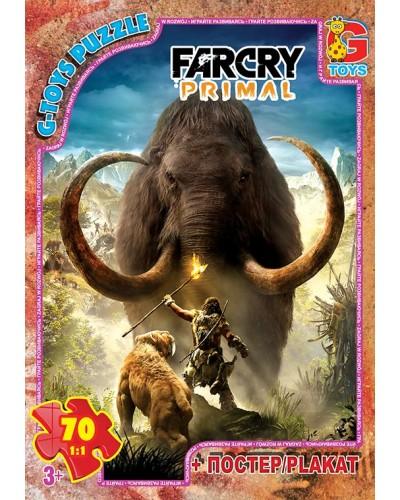 """Пазли ТМ """"G-Toys"""" із серії """"Far Cry. Тваринний світ"""", 70 ел."""