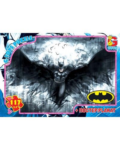 """Пазли ТМ """"G-Toys"""" із серії  """"Бетмен"""", 117 ел."""