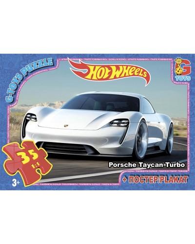 "Пазли ТМ ""G-Toys"" із серії ""Hot Wheels"", 35 ел."