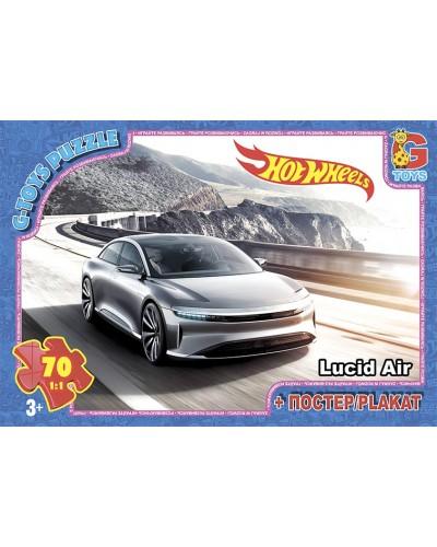"Пазли ТМ ""G-Toys"" із серії ""Hot Wheels"", 70 ел."