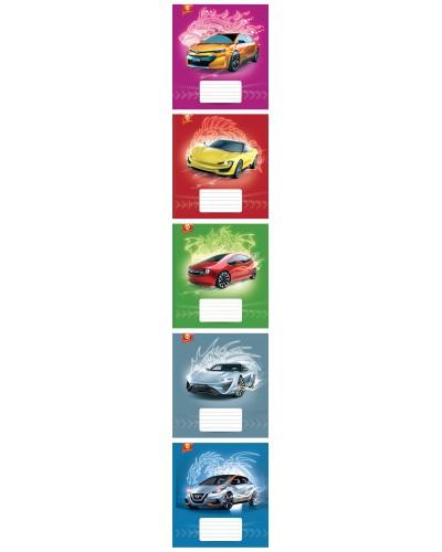 Зошит, 12 аркушів, лінія, Тетрада (Авто (82171)) продажа уп (25шт.)