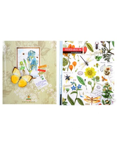 Зошит, 48 аркушів, клітинка, офсет, Мандарин (Herbarium(15-155))