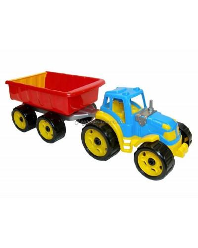 "Машина ""Трактор с прицепом"", арт. 3442, ТехноК"