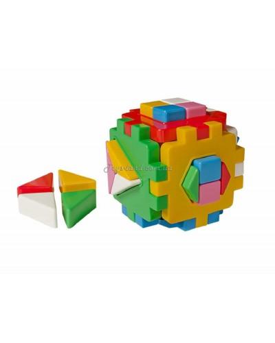 """Куб сортер Умный малыш """"Логика 2"""", арт. 2469, ТехноК"""
