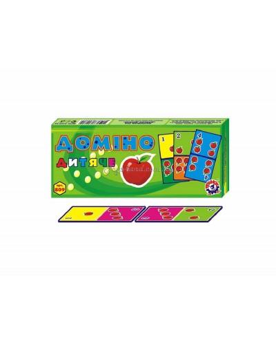 """Домино """"Детское"""", арт. 0809, ТехноК"""