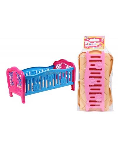 Кроватка для куклы, арт. 4517, ТехноК