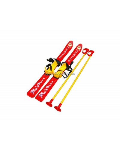 Лыжи с палками детские, арт. 3350, ТехноК