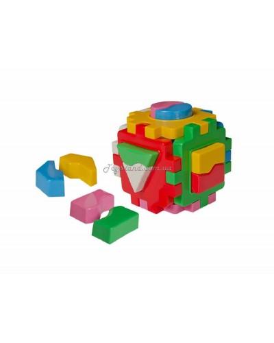 """Куб сортер Умный малыш """"Логика 1"""", арт. 2452, ТехноК"""