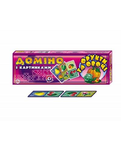 """Домино """"Фрукты и овощи"""", арт. 2643, ТехноК"""