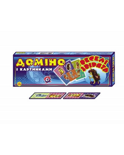 "Домино ""Веселые звери"", арт. 2544, ТехноК"