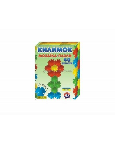 """Мозаика-пазлы """"Коврик"""" (40 дет.), арт. 2940, ТехноК"""