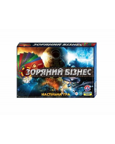 """Настольная игра """"Зоряний бізнес"""", арт. 0397, ТехноК"""