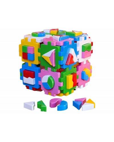 "Куб сортер Умный малыш ""Суперлогика"", арт. 2650, ТехноК"