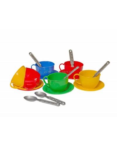 "Набор посуды ""Чайный сервиз"" (18 пред.), арт. 0465, ТехноК"