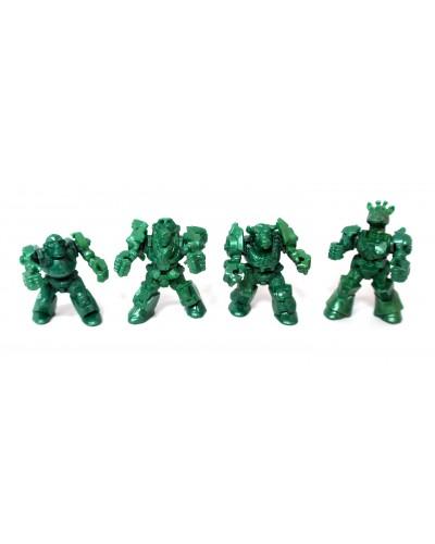 Африка загін ЗвеРоботов 4 фігурки (колір зелений), арт. 00061_3, Технолог