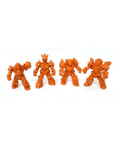 Африка загін ЗвеРоботов 4 фігурки (колір помаранчевий), арт. 00061_2, Технолог