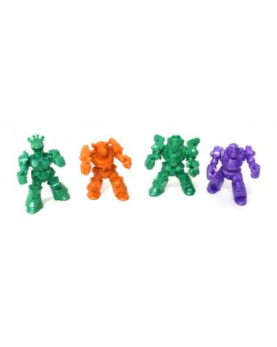 Мікс Африка загін ЗвеРоботов 4 фігурки, арт. 00061, Технолог