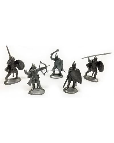 Русичі набір воїнів (колір сірий), арт. 113
