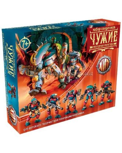 Варгейм Чужі Битви Fantasy набір воїнів (колір сірий), арт. 00367, Технолог