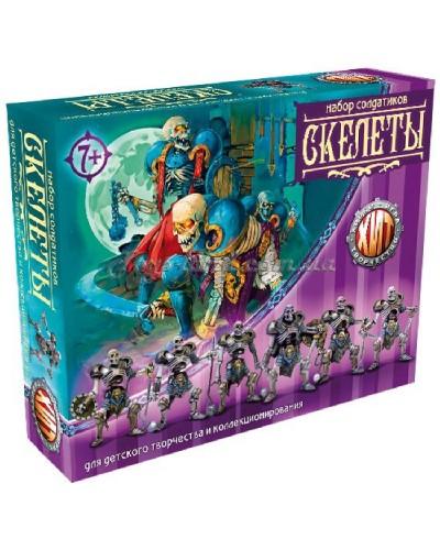 Варгейм Скелети Битви Fantasy набір воїнів (колір тілесний), арт. 00376_1, Технолог