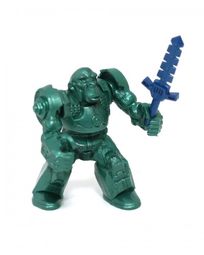 Мавпа ЗвеРобот зі зброєю (колір зелений), арт. 00615_4/з, Технолог