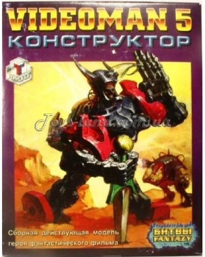 Videoman № 5 модель воїна кіборга, арт. 00007, Технолог
