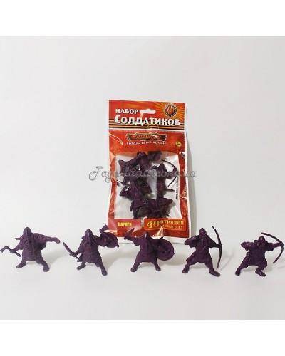 Варяги Битви Fantasy набір воїнів №3 (з гнучкого пластику), арт. 00705_3, Технолог