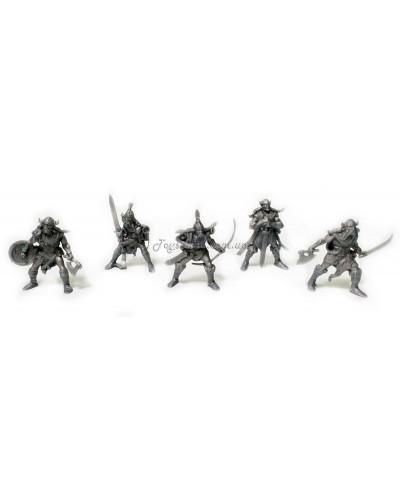 Вікінги Битви Fantasy набір воїнів (колір сірий), арт. 00068_3, Технолог