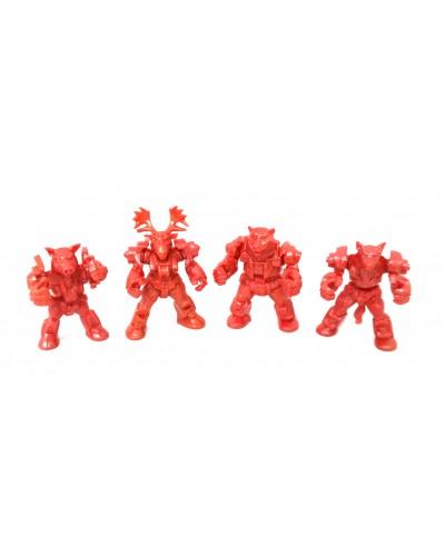 Арктика загін ЗвеРоботов 4 фігурки (колір червоний), арт. 00062_2, Технолог