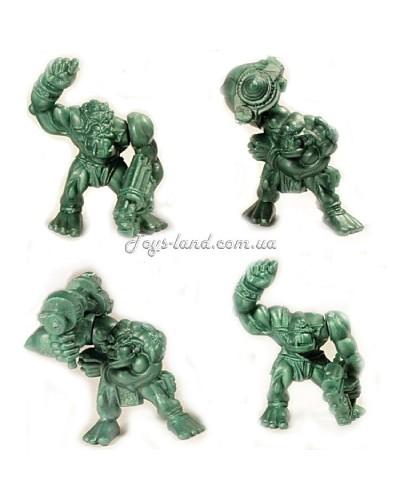 Космічні Орки загін 4 фігурки (колір зелений), арт. 00021, Технолог