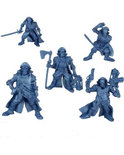 "Набор воинов ""Легион Центурион"" без коробки (5 воинов/ цвет синий металик), Fantasy"