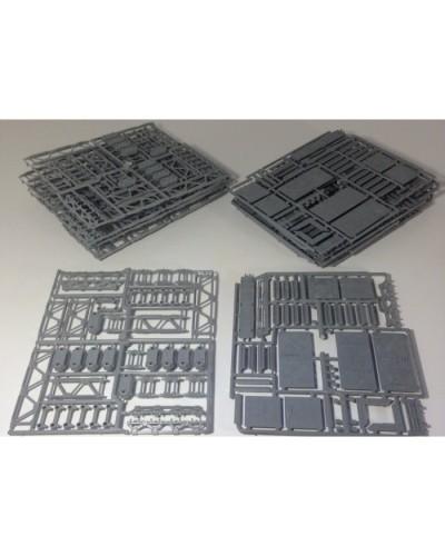 "Конструктор ""Платформер"" 0117*Тх набор 20 отливок (2 вида по 10 шт. каждого вида), Технолог"