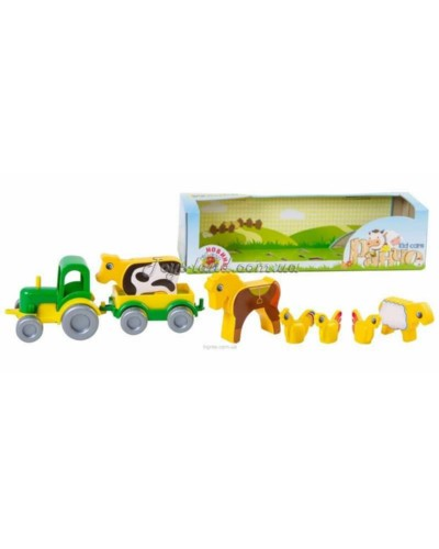 """Игровой набор """"Ранчо Kid cars"""", арт. 39280, Тигрес"""