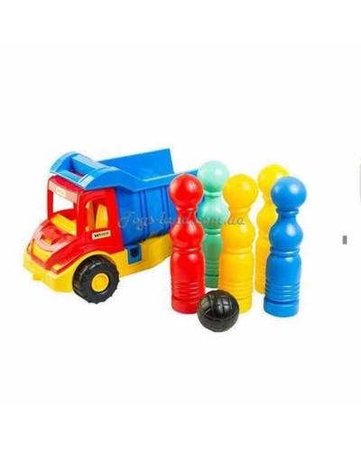 Multi truck грузовик с кеглями, арт. 39220, Тигрес