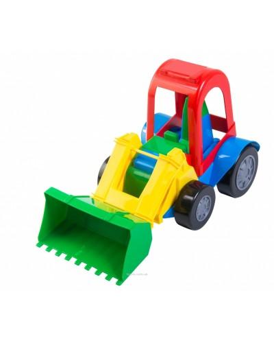 Игрушечная машинка трактор-багги