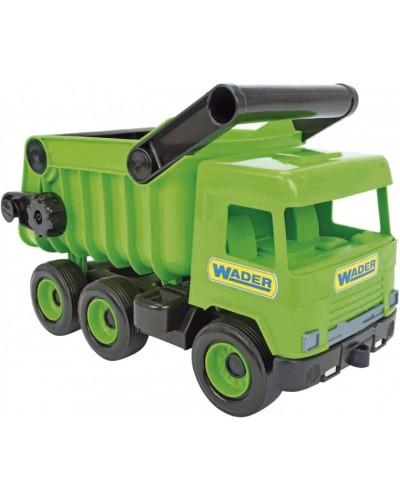"""Авто """"Middle truck"""" самоскид (св. зелений) в коробці"""